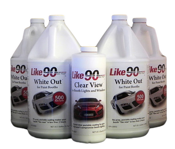 Like90 10031 Clean Booth Kit White BG