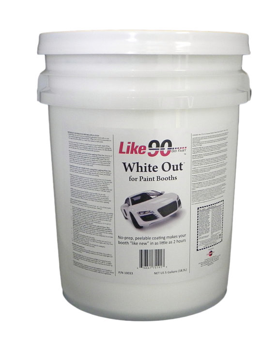 Like90 10033 White Out 5-gal